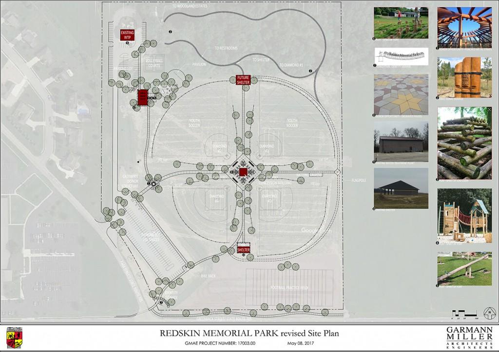 Redskin Memorial Park Development Village Of Fort