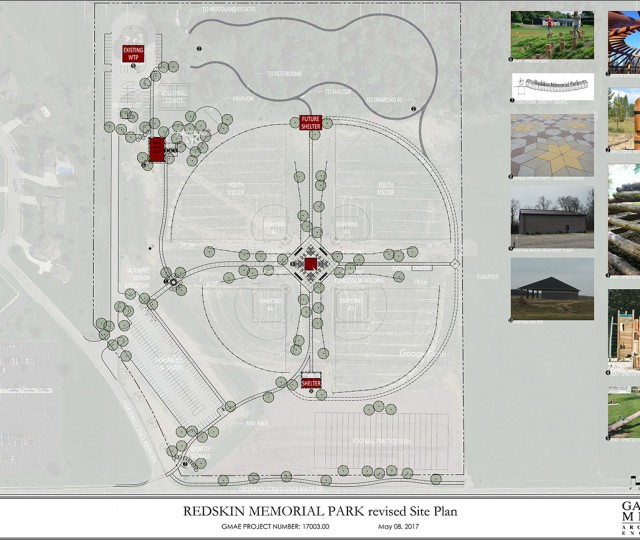 Redskin Memorial Park Revised Site Plan